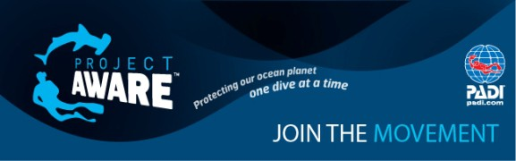 PADI Course Director - Tenerife  PROJECT AWARE - My Project Aware