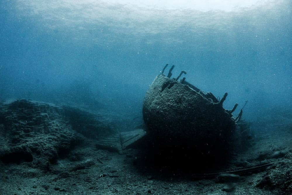 PADI Course Director - Tenerife  ghostship - PADI MSDT