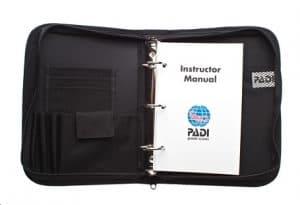 PADI Course Director - Tenerife  padiinstructormanual 300x205 - padiinstructormanual