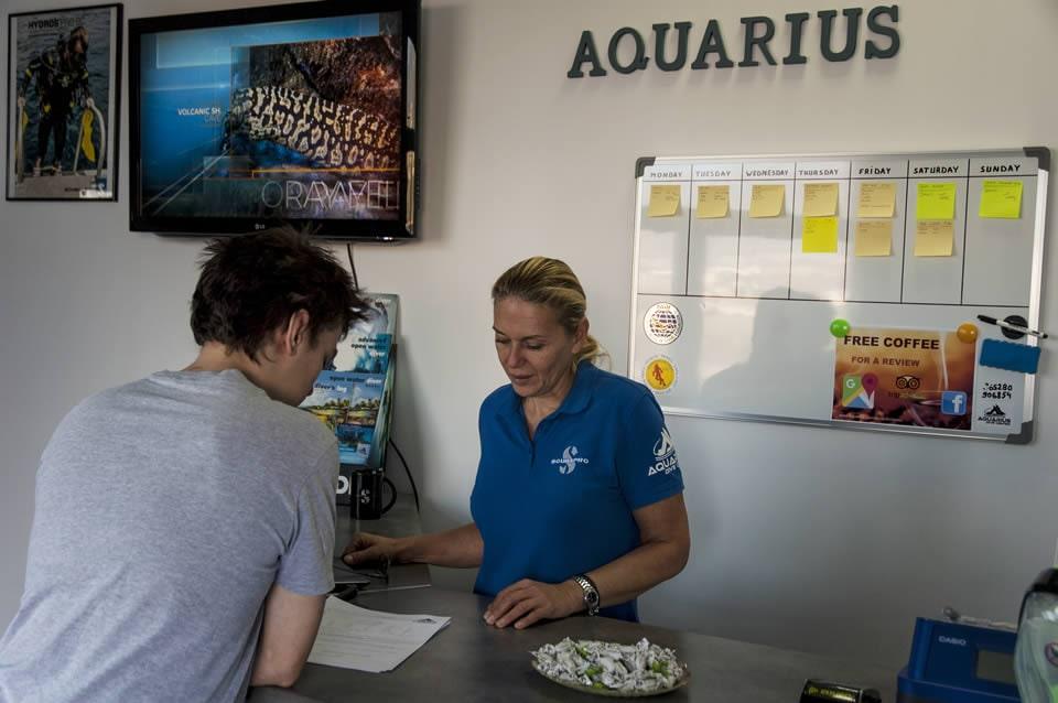 PADI Course Director - Tenerife  Aquarius dive center Tenerife 2 - Dive Center